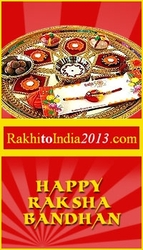 Rakhi celebration with a sparkling note
